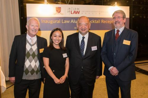 Law Alumni Cocktail Reception on 25 January 2019