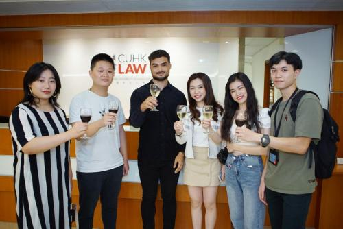 Master of Laws (LLM) End of Year Reception on 11 May 2019